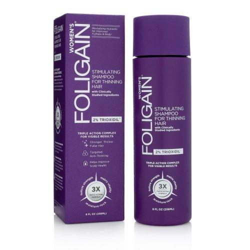 Šampón proti padaniu vlasov pre ženy Foligain