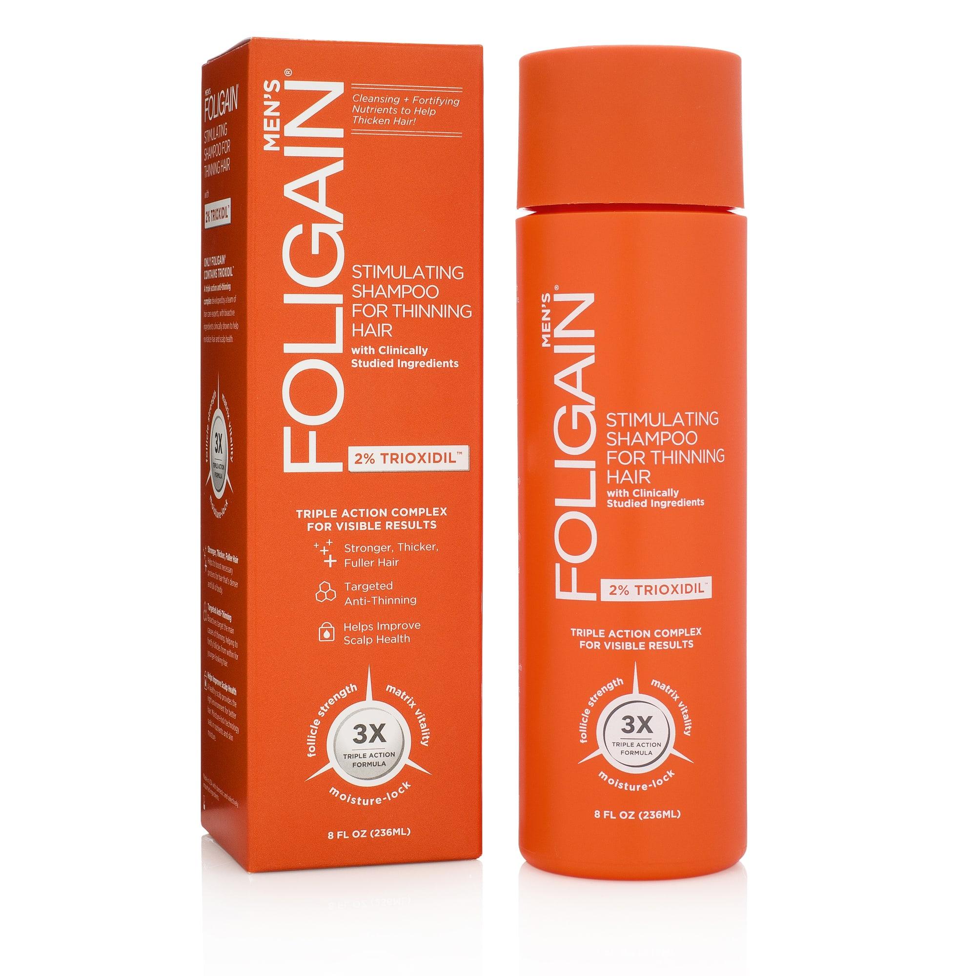 Šampón proti padaniu vlasov pre mužov Foligain