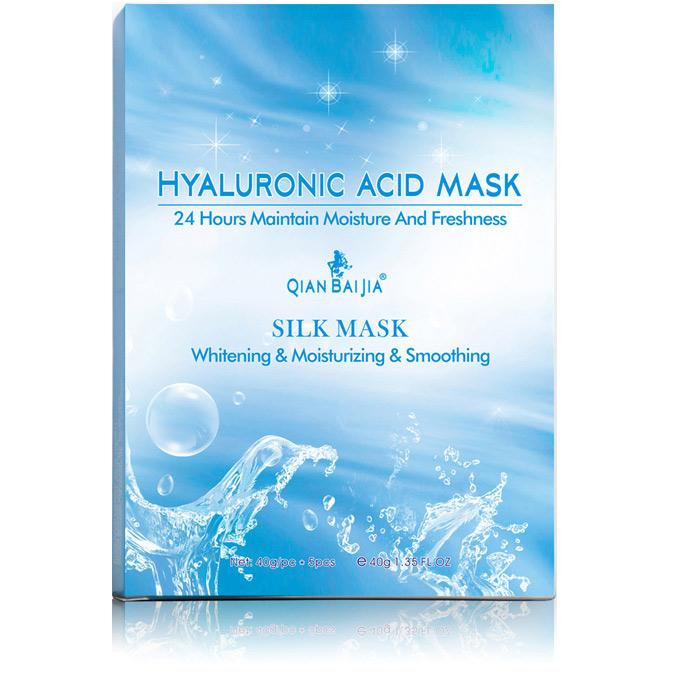 Pleťová maska s hyaluronovym sérom