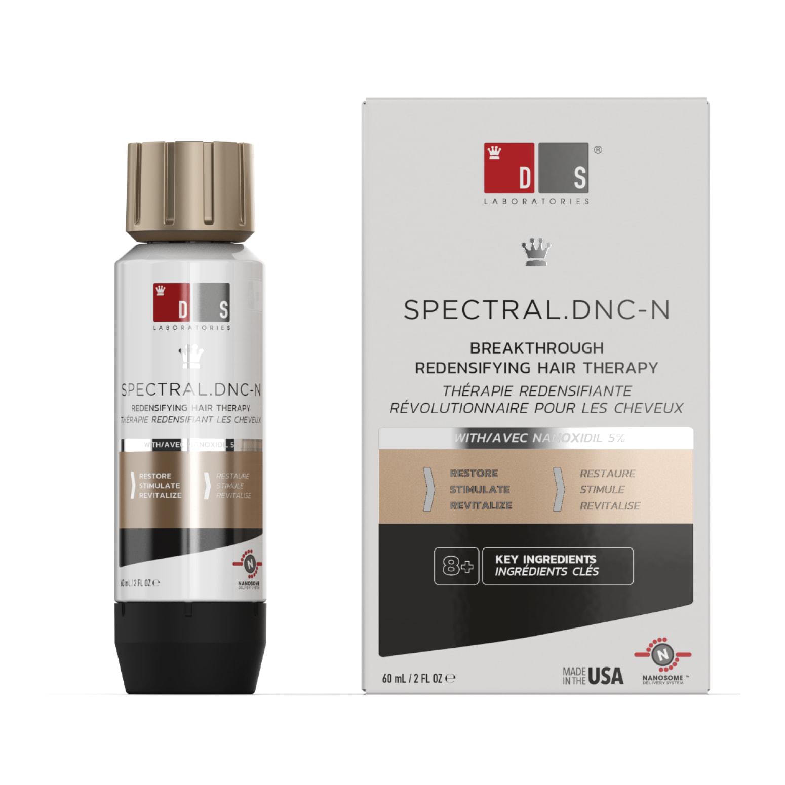 Spectral DNC-N - vypadavanie vlasov